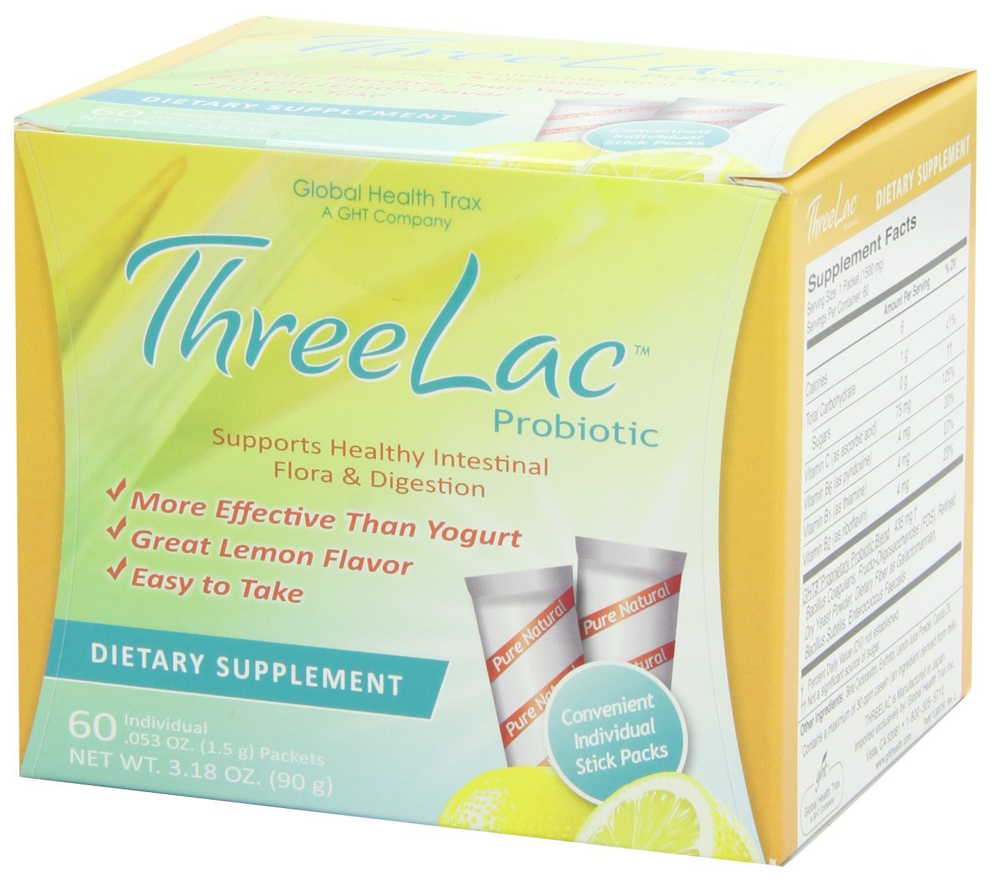 Threelac Probiotic Dietary Supplement