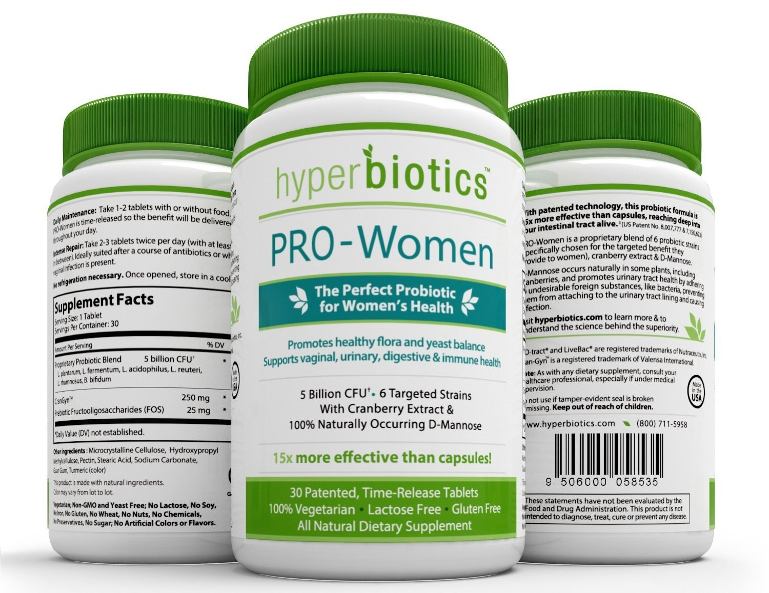 Hyperbiotics PRO-Women with Cranberry Extract